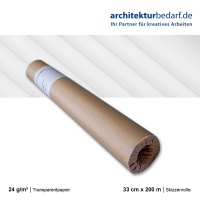 Skizzenrolle 24 g/m²