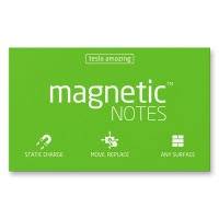 Magnetic Notes grün 100 x 70 mm
