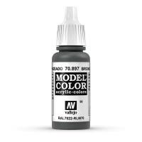 Model Color 70.897 Bronze Grün - RAL7022 - RLM70