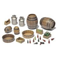 Barrels and Bottles, Scale 1:35