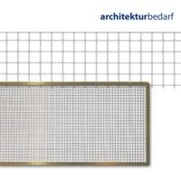 Quadratlochblech Messing 4,5 x 30 cm