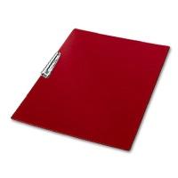 Clipboard, Plastic, DIN A3 landscape, red