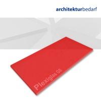 Plexiglas® GS transparent satiniert strawberry