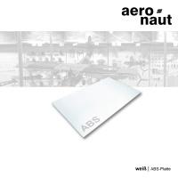 ABS-Platte 500 x 300 x 1,0 mm