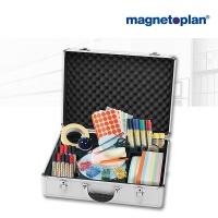 magnetoplan Moderationskoffer, gefüllt
