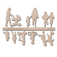 Figure Set Children, 1:50, light brown