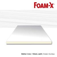 FOAM-X 70x100cm, Stärke 3mm