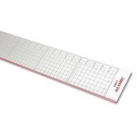 Cutting Ruler, made of Plexiglas