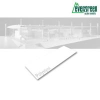 Evergreen 8 weiße Polystyrolplatten