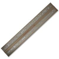 Schriftschablone 10,0 mm