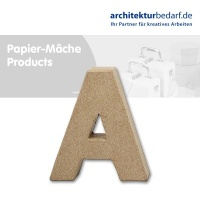 Buchstabe Papier-Mâché - A