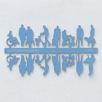 Figures Senior Citizens, 1:100, light blue
