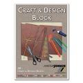 Craft & Design Pad brown A4