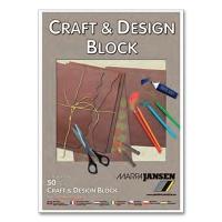 Craft & Design Pad brown A2