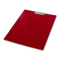 Clipboard, Plastic, DIN A3 red