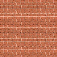 Wall Carton, A4, red Bricks