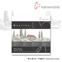 Skizzenblock Quattro 40 x 40 cm