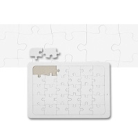 Puzzle A5 weiß