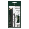 PITT Graphite Drawing Set, 7 pcs.