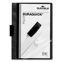 Klemmmappe Duraquick A4 schwarz