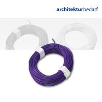 Kupferschaltlitze violett - extra dünn