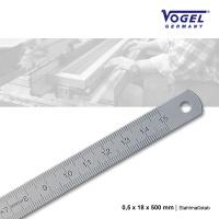 Stahlmaßstab 0,5 x 18 x 500 mm