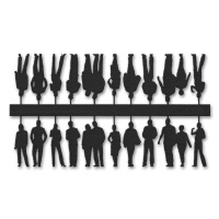 Figuren, 1:100, schwarz