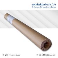 Skizzenrolle 40 g/m²