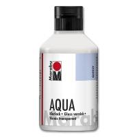 Aqua-Klarlack 250 ml Flasche hochglänzend