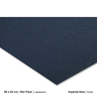 Laserkarton 96 x 63 cm, imperial blue