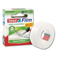 Tesafilm matt invisible 19 mm x 33 m