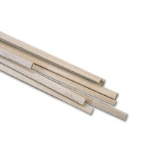 Lime Wooden Strip 1,0 x 1,0 mm