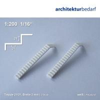 Treppe 21/21 Breite 3 mm