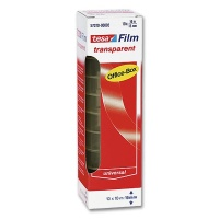 Tesa Transparent Film Office Box, 15 mm x 10 m