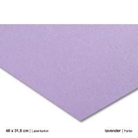 Laserkarton 48 x 63 cm, lavender