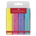 Highlighters 4 pcs. Etui Pastel