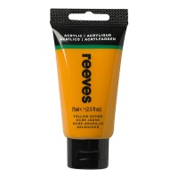 Reeves Acrylic 75 ml, 500 ochre yellow