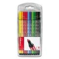 Stabilo Pen 68 Kunststoffetui mit 10 Farben