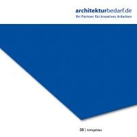 Tonzeichenpapier 50 x 70 cm, 35 königsblau