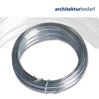 Aluminiumdraht Rolle mit 100 m Ø 1,5 mm