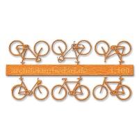 Bicycles, 1:100, orange
