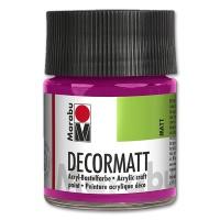 Decormatt Acrylic matt - No. 014 magenta