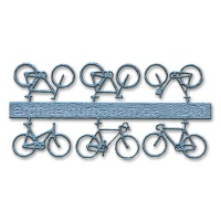 Bicycles, 1:200, lightblue