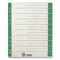 Dividers 100 pcs., green printed