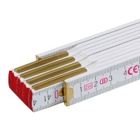 Wooden Folding Ruler, 200 cm