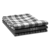 Tea Towel Copenhagen, black / white