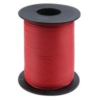 Kupferschaltlitze 100 m Rolle rot