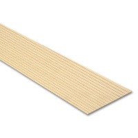 Board with Grooves, Obeche, 5 mm Groove Distance
