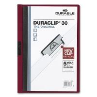 Clip Folder Duraclip 30 - A4 aubergine