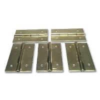 Brass Miniature Hinge 15 x 30 mm